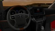 Toyota Land Cruiser 200 2016 для GTA San Andreas миниатюра 8