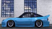 Nissan 180sx 2JZ for GTA 5 miniature 3