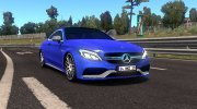 Mercedes-Benz C63 AMG Coupe for Euro Truck Simulator 2 miniature 1