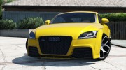 Audi TT RS 2013 v1 for GTA 5 miniature 8