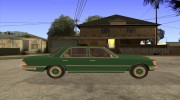 Mercedes - Benz 280SE for GTA San Andreas miniature 5