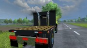 Mack B63 Flatbed for Farming Simulator 2013 miniature 5
