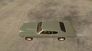 Chevrolet Chevelle SS for GTA San Andreas miniature 2
