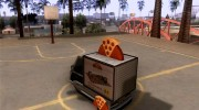 Sweeper Pizza Boy для GTA San Andreas миниатюра 3