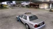Ford Crown Victoria Colorado Police for GTA San Andreas miniature 3