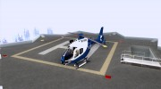NYPD Eurocopter By SgtMartin_Riggs for GTA San Andreas miniature 1
