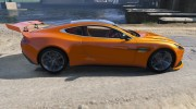 2012 Aston Martin Vanquish for GTA 5 miniature 2