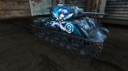 Шкурка для M4A3E8 Sherman TouHou for World Of Tanks miniature 5