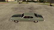 Chevrolet Chevelle SS 454 1970 for GTA San Andreas miniature 2