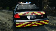 Ford Crown Victoria Police Interceptor 2003 Liberty City Police Department [ELS] для GTA 4 миниатюра 8