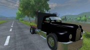 Mack B63 Flatbed for Farming Simulator 2013 miniature 2