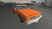 Chevrolet Caprice 1986 for GTA Vice City miniature 2