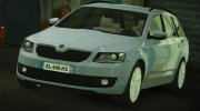Skoda Octavia Civil for GTA 5 miniature 1