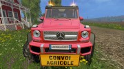 Mercedes G65 AMG 6x6 v.1 for Farming Simulator 2015 miniature 1