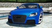 Audi TT RS 2013 v1 for GTA 5 miniature 11