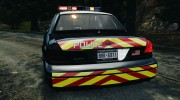 Ford Crown Victoria Police Interceptor 2003 Liberty City Police Department [ELS] для GTA 4 миниатюра 9