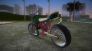 Honda FTR Custom v3.0 for GTA Vice City miniature 4