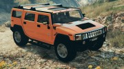 Hummer H2 FINAL for GTA 5 miniature 4