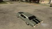 Chevrolet Chevelle SS 454 1970 for GTA San Andreas miniature 3