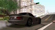 Dodge Viper GTS Tunable для GTA San Andreas миниатюра 3
