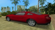 Ford Shelby GT 500 2010 для GTA Vice City миниатюра 3