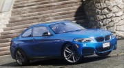 BMW M235i Coupe for GTA 5 miniature 6