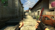 Bloody Knife (first skin) для Counter-Strike Source миниатюра 2