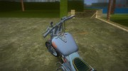 Harley-Davidson Black Death for GTA Vice City miniature 5