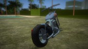 Harley-Davidson Black Death for GTA Vice City miniature 3