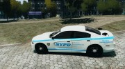 Dodge Charger NYPD 2012 for GTA 4 miniature 2