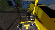 Komatsu PC 210 LC для Farming Simulator 2015 миниатюра 9