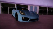 Porsche Cayman S 2014 for GTA Vice City miniature 4