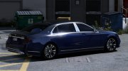 2018 Mercedes-Maybach S650 for GTA 5 miniature 5