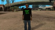 Grove Street Shirt for GTA San Andreas miniature 4