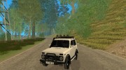 LADA NIVA 21213-OFF-ROAD для GTA San Andreas миниатюра 1