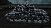 КВ-3  TRON skin for World Of Tanks miniature 2