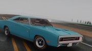 1970 Dodge Charger R/T 440 (XS29) для GTA San Andreas миниатюра 3