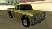 Dodge D-100 1966 for GTA San Andreas miniature 2
