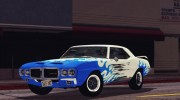 1969 Pontiac Firebird Trans Am Coupe (2337) для GTA San Andreas миниатюра 11