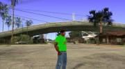 CJ в футболке (Radio Los Santos ) for GTA San Andreas miniature 3