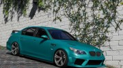 BMW M5 E60 v1.1 for GTA 5 miniature 4