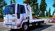 Ford Cargo 815 Tow Truck Porto Seguro for GTA 5 miniature 1