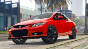 Honda Civic SI for GTA 5 miniature 1