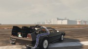 DeLorean DMC-12 for GTA 5 miniature 4