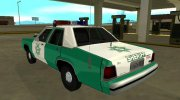 Ford LTD Crown Victoria 1991 San Diego County Sheriff for GTA San Andreas miniature 4