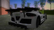 Gumpert Apollo Sport for GTA Vice City miniature 2
