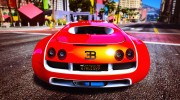 Bugatti Veyron v6.0 for GTA 5 miniature 4