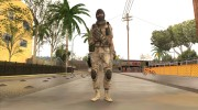 Crysis 2 US Soldier 8 Bodygroup B for GTA San Andreas miniature 5