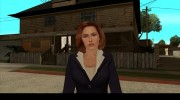 Dana Scully (The X-Files) для GTA San Andreas миниатюра 1