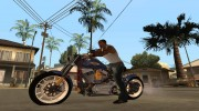 Harley Davidson fatboy Racing Bobber for GTA San Andreas miniature 1